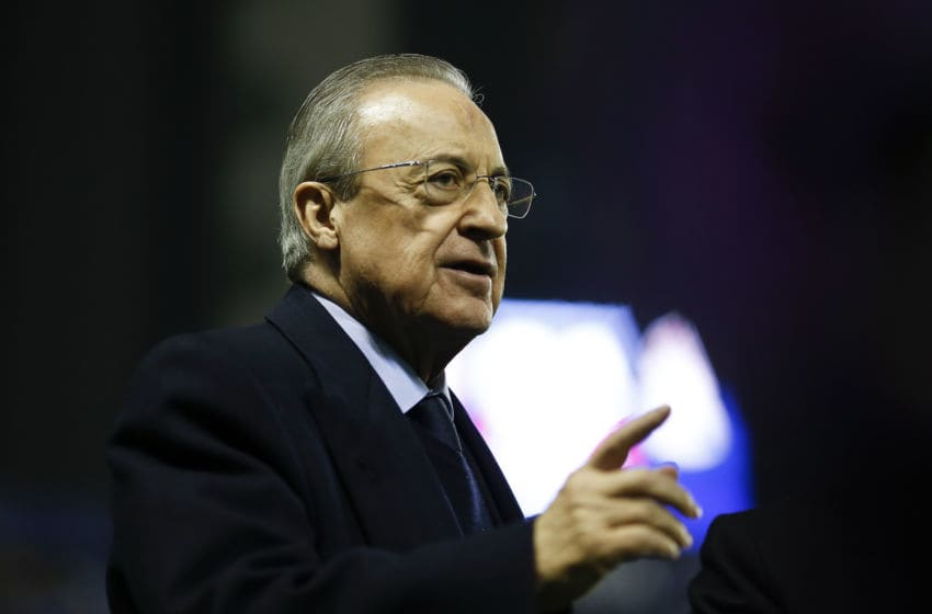 Florenitno Perez, president of Real Madrid (Photo by Eric Alonso/Getty Images)