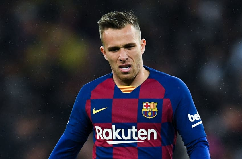 Arthur Melo of FC Barcelona (Photo by David Ramos/Getty Images)