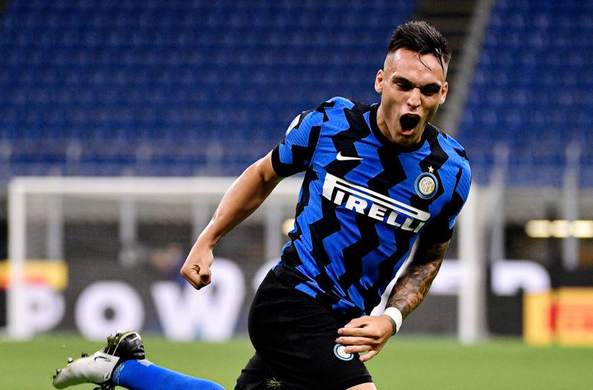 Lautaro Martinez of Internazionale (Photo by Mattia Ozbot/Soccrates/Getty Images)