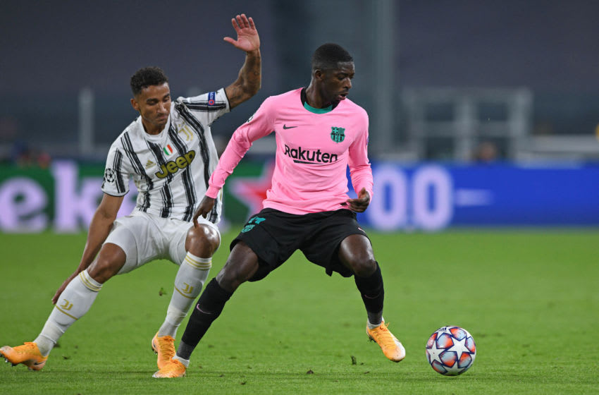Ousmane Dembele of Barcelona (Photo by Chris Ricco/Getty Images)