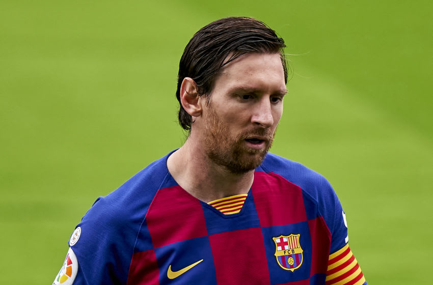 Lionel Messi of FC Barcelona (Photo by Jose Manuel Alvarez/Quality Sport Images/Getty Images)