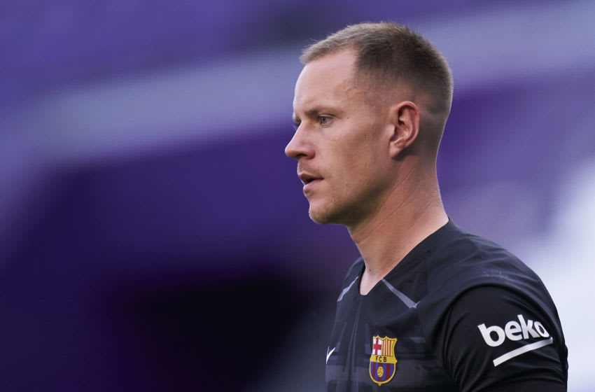 Marc-Andre Ter Stegen of FC Barcelona (Photo by Mateo Villalba/Quality Sport Images/Getty Images)