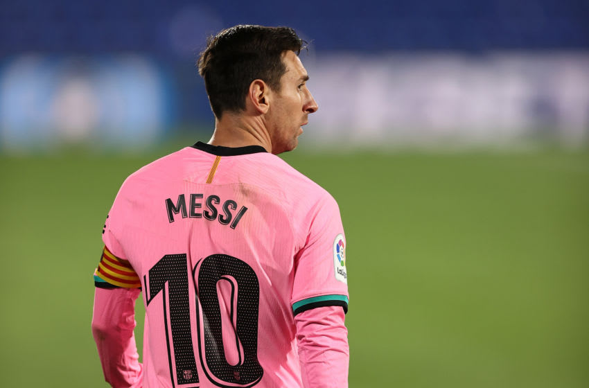 Lionel Messi of FC Barcelona(Photo by Angel Martinez/Getty Images)
