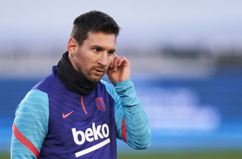 Lionel Messi of FC Barcelona. (Photo by Quality Sport Images/Getty Images)