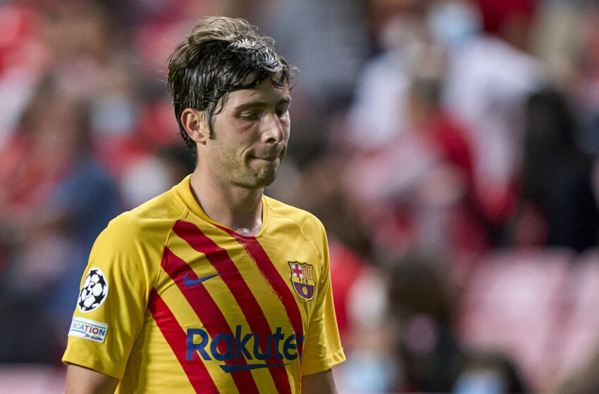 Sergi Roberto of FC Barcelona. (Photo by Jose Manuel Alvarez/Quality Sport Images/Getty Images)