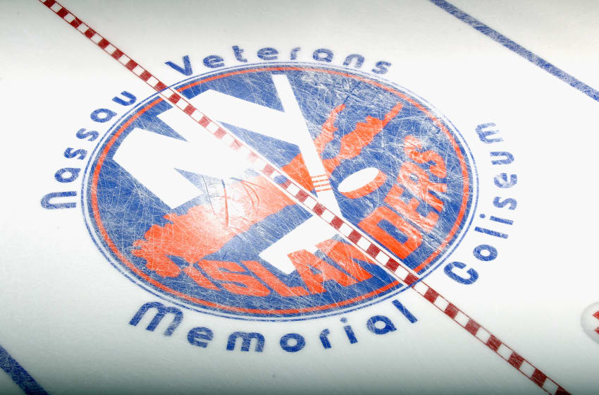 The New York Islanders logo (Photo by Bruce Bennett/Getty Images)