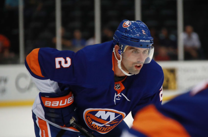 Nick Leddy #2 of the New York Islanders (Photo by Bruce Bennett/Getty Images)