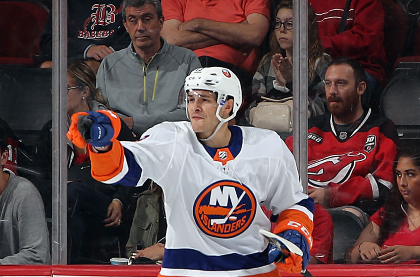 Mathew Barzal #13 of the New York Islanders (Photo by Bruce Bennett/Getty Images)