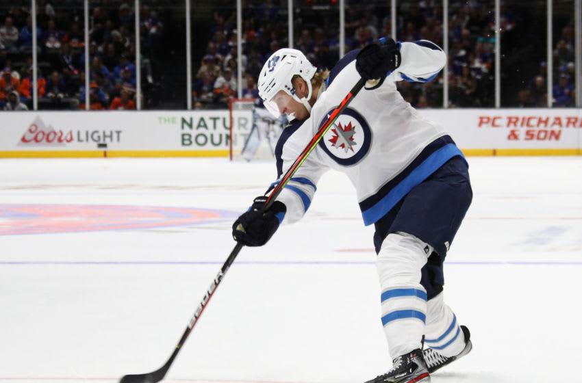 Patrik Laine #29 of the Winnipeg Jets (Photo by Bruce Bennett/Getty Images)