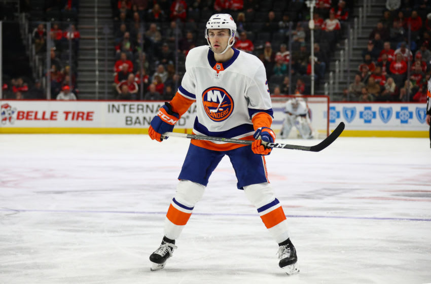 Adam Pelech #3 of the New York Islanders (Photo by Gregory Shamus/Getty Images)