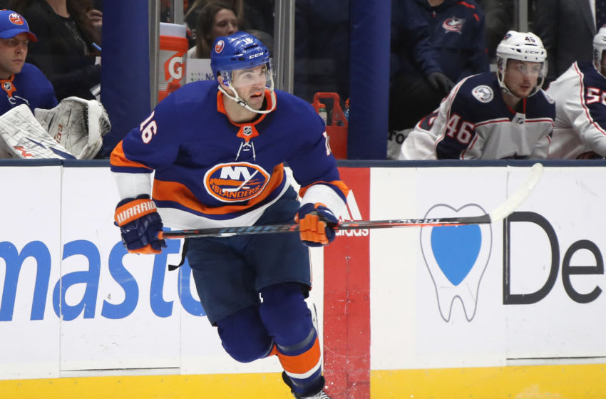 Andrew Ladd #16 of the New York Islanders (Photo by Bruce Bennett/Getty Images)