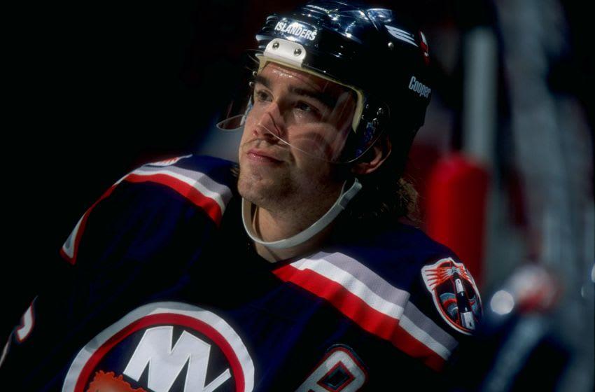 New York Islanders Zigmund Palffy #16 (Credit: Al Bello /Allsport)
