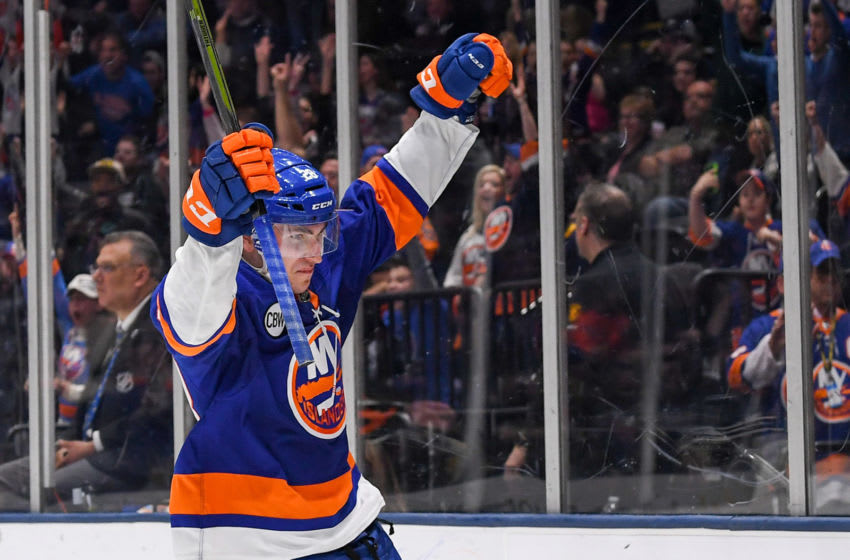 New York Islanders Michael Dal Colle (28) (Mandatory Credit: Dennis Schneidler-USA TODAY Sports)