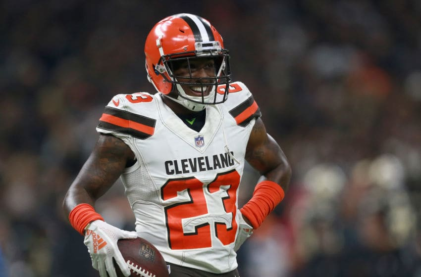 Cleveland Browns Damarious Randall (Photo by Sean Gardner/Getty Images)