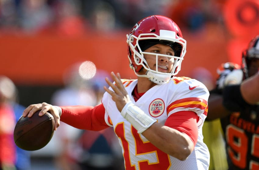 Cleveland Browns Patrick Mahomes (Photo by Jason Miller/Getty Images)