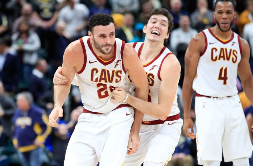 Cleveland Cavaliers Larry Nance Jr. Cedi Osman (Photo by Andy Lyons/Getty Images)