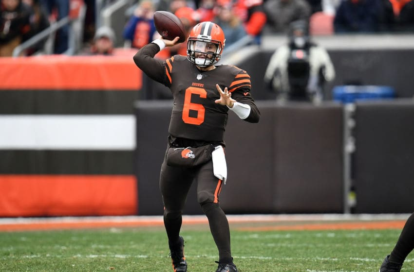 Cleveland Browns Baker Mayfield (Photo by Jason Miller/Getty Images)
