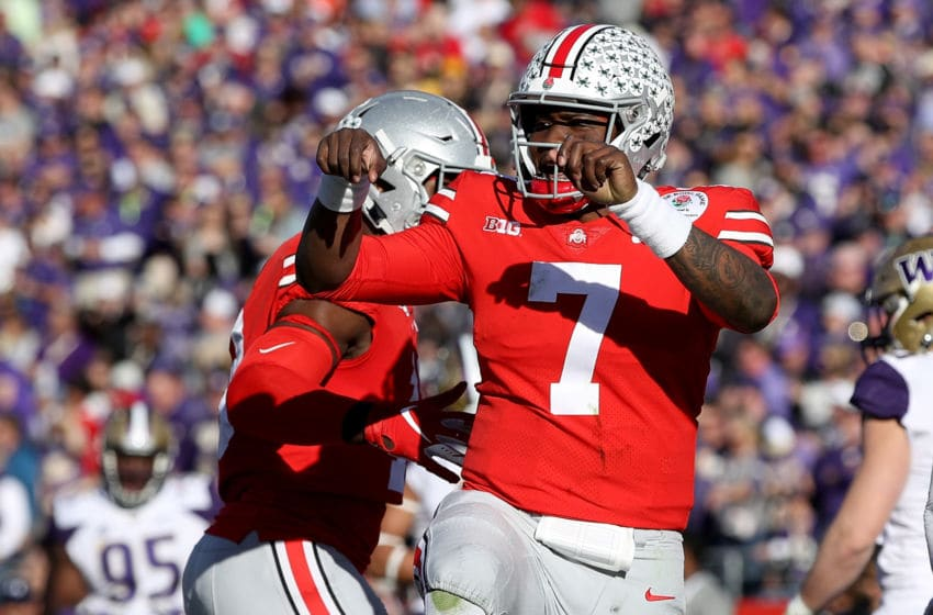 Ohio State football Dwayne Haskins (Photo by Sean M. Haffey/Getty Images)