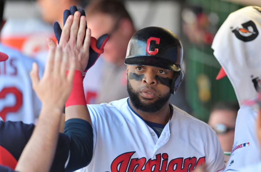 Cleveland Indians Carlos Santana (Photo by Jason Miller/Getty Images)