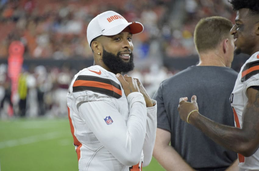 Cleveland Browns Odell Beckham Jr. (Photo by Jason Miller/Getty Images)