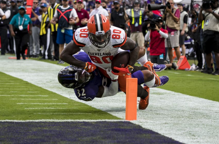 Cleveland Browns Jarvis Landry (Photo by Scott Taetsch/Getty Images)