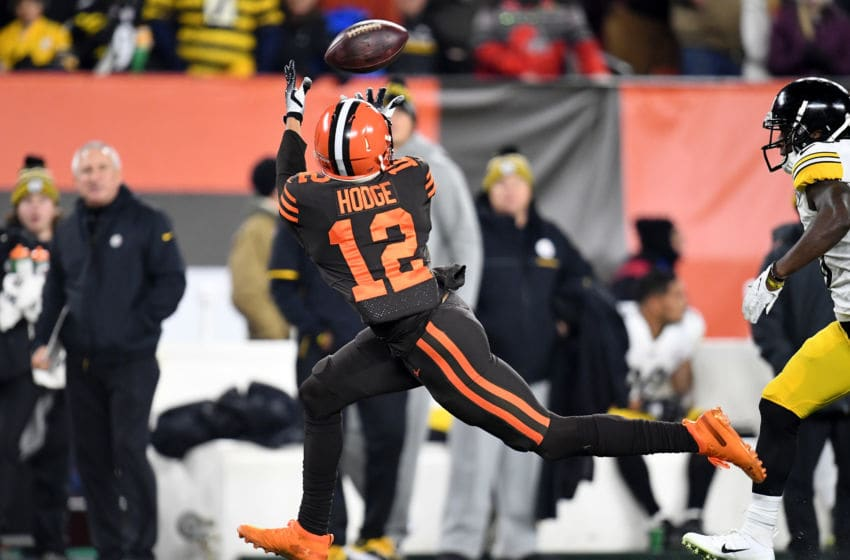 Cleveland Browns KhaDarel Hodge (Photo by Jason Miller/Getty Images)