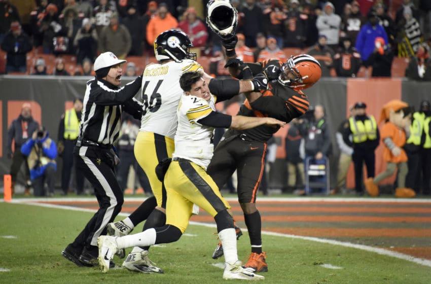 Cleveland Browns Myles Garrett (Photo by Jason Miller/Getty Images)