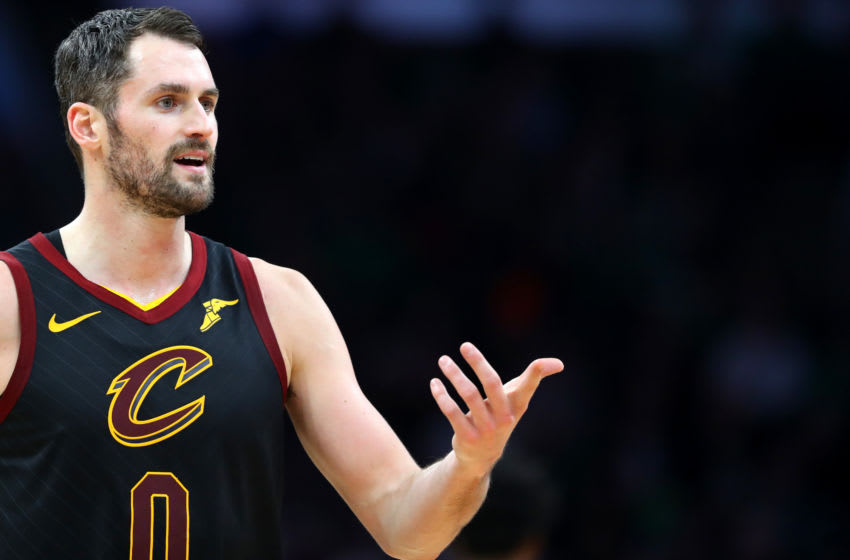 Kevin Love Cleveland Cavaliers (Photo by Maddie Meyer/Getty Images)