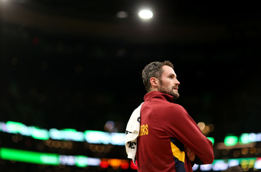 Cleveland Cavaliers Kevin Love Photo by Maddie Meyer/Getty Images)