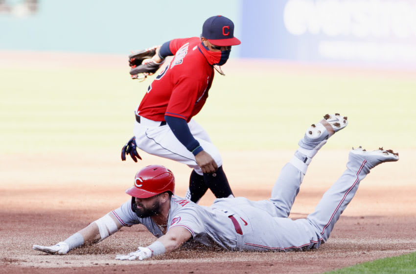 Cleveland Indians Francisco Lindor (Photo by Ron Schwane/Getty Images)