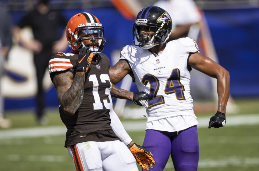 Cleveland Browns Odell Beckham (Photo by Scott Taetsch/Getty Images)