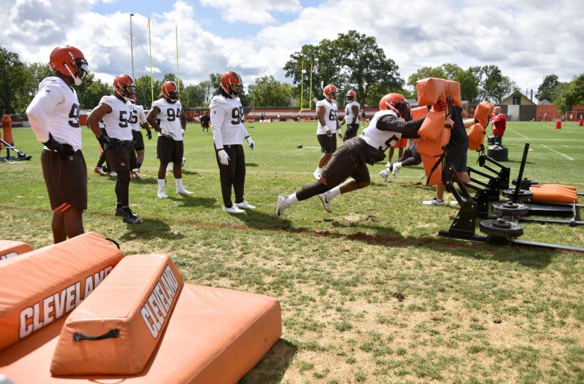 Cleveland Browns Myles Garrett. (Photo by Jason Miller/Getty Images)