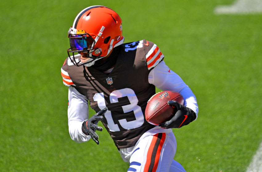 Cleveland Browns Odell BEckham(Photo by Jason Miller/Getty Images)