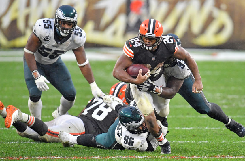 Browns Nick Chubb (Photo by Jason Miller/Getty Images)