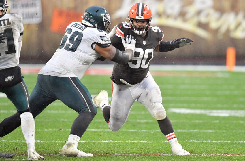 Cleveland Browns Jordan Elliott (Photo by Jason Miller/Getty Images)