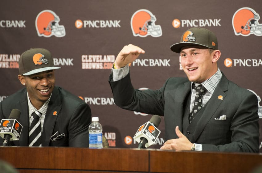 Cleveland Browns Johnny Manziel (Photo by Jason Miller/Getty Images)