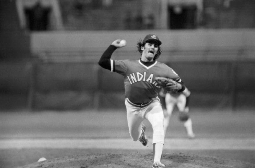 Cleveland Indians Dennis Eckersley (Photo by: Diamond Images/Getty Images)