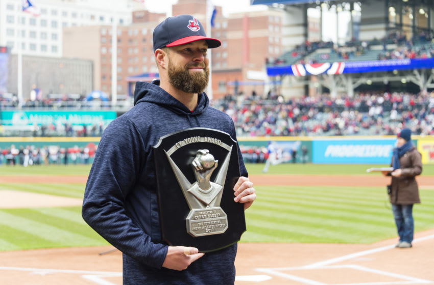 Cleveland Indians Corey Kluber (Photo by Jason Miller/Getty Images)
