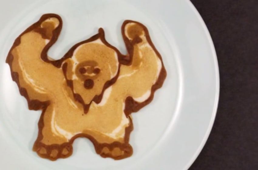 Collection of Every NFL logo recreated as Pancake Art