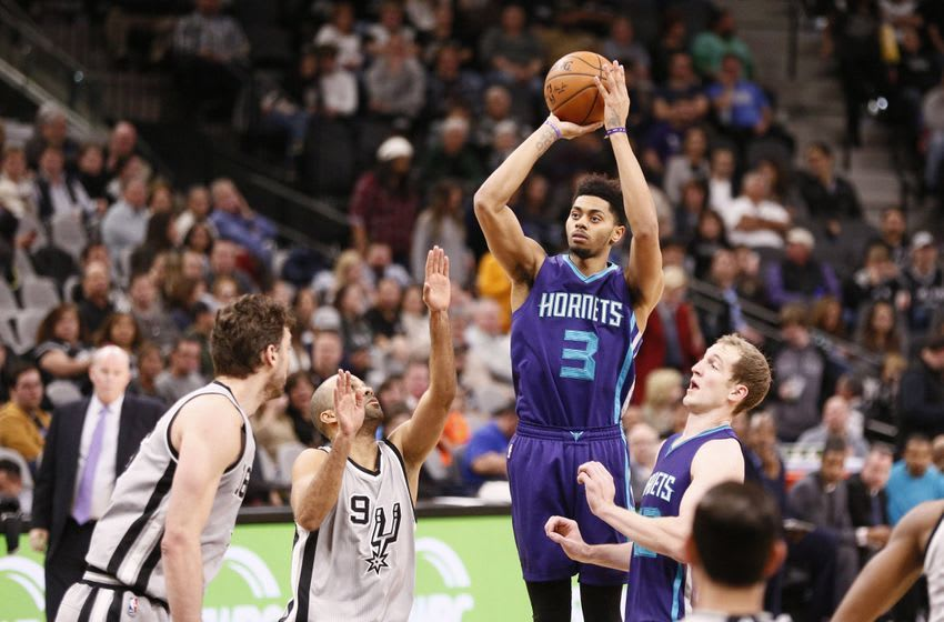 Charlotte Hornets shooting guard Jeremy Lamb (3) is in today's DraftKings daily picks. Mandatory Credit: Soobum Im-USA TODAY Sports