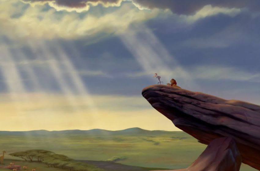 Official still for The Lion King trailer; image courtesy of Disney Movies.
