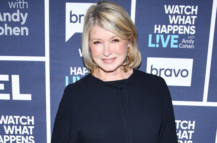 WATCH WHAT HAPPENS LIVE WITH ANDY COHEN -- Episode 17010 -- Pictured: Martha Stewart -- (Photo by: Charles Sykes/Bravo/NBCU Photo Bank)