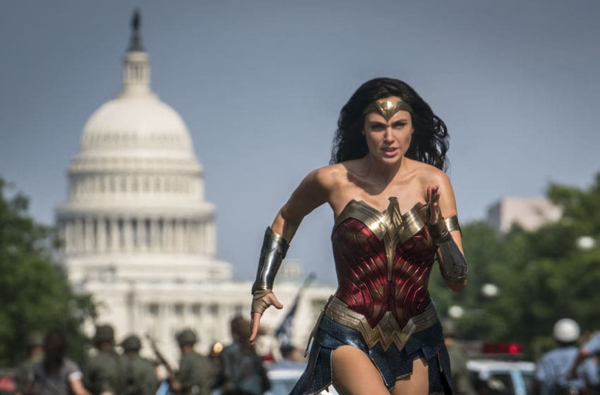 "GAL GADOT as Wonder Woman in Warner Bros. Pictures' action adventure ""WONDER WOMAN 1984,"" a Warner Bros. Pictures release."