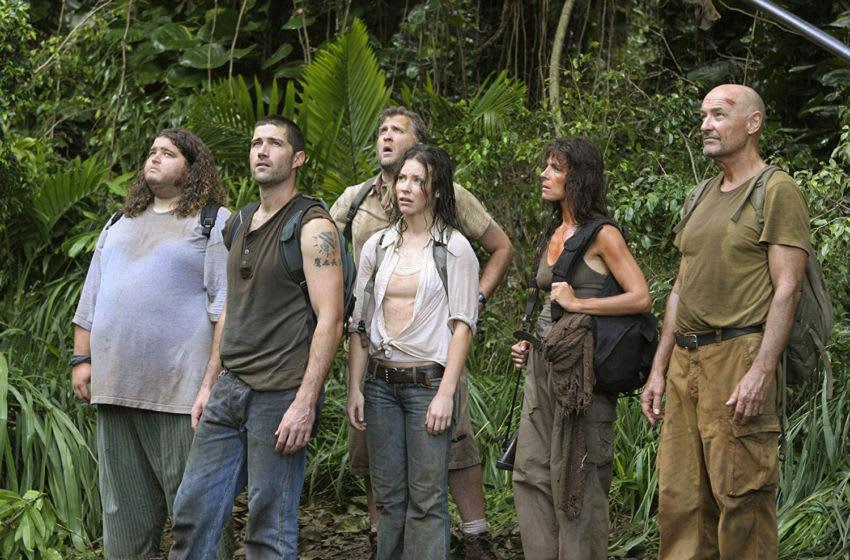 Lost (2010). Mira Furlan, Matthew Fox, Jorge Garcia, Terry O'Quinn, Evangeline Lilly. Photo: Mario Perez/American Broadcasting Companies, Inc.