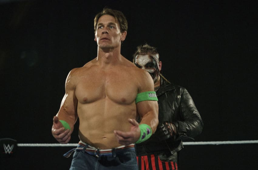 Firefly Funhouse John Cena v The Fiend Bray Wyatt at WrestleMania 36 (photo via WWE, inc)