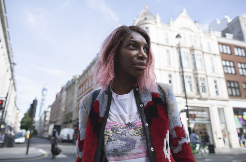Michaela Coel in HBO's I May Destroy You. Photograph by Laura Radford/HBO.