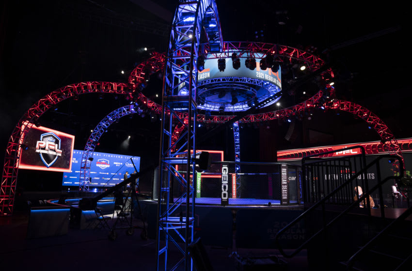 PFL cage (via PFL/Eric Coleman)