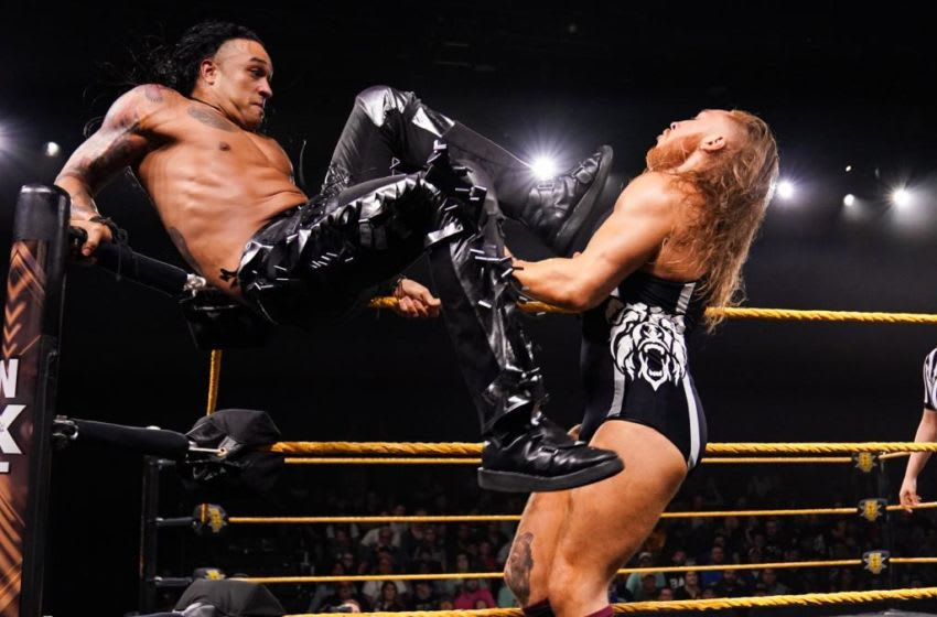 Pete Dunne faced Damian Priest in the main event of the October 16, 2019 edition of WWE NXT. Photo: WWE.com