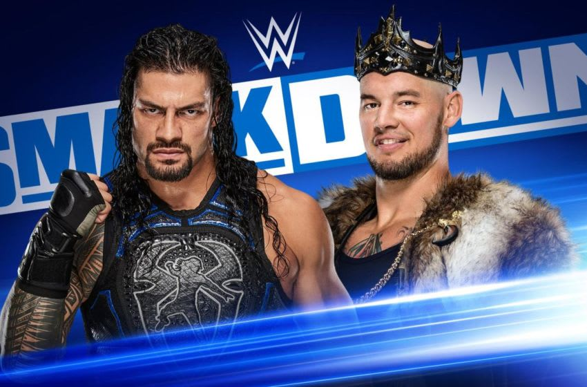 Roman Reigns faces Baron Corbin on the Nov. 8, 2019 edition of Friday Night SmackDown. Photo: WWE.com