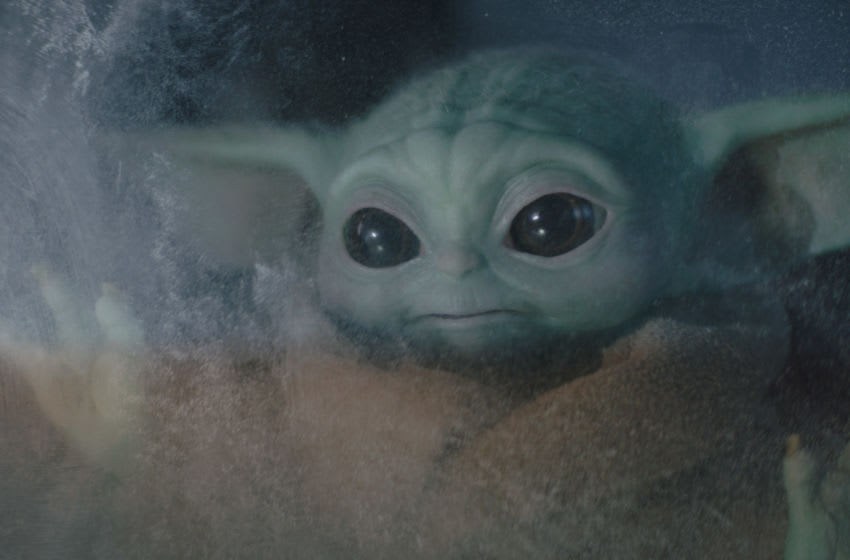 The Child in Lucasfilm's THE MANDALORIAN, season two, exclusively on Disney+. Image courtesy Disney+
